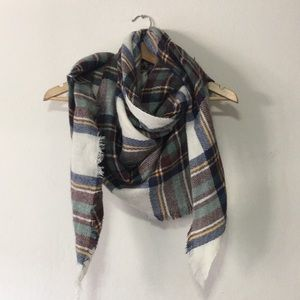 new! triangle blanket scarf